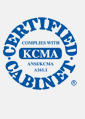 KBC Kitchen & Bathroom Cabinetry Certificates By KCMA