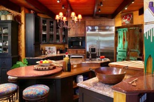 rustic kitchen plans
