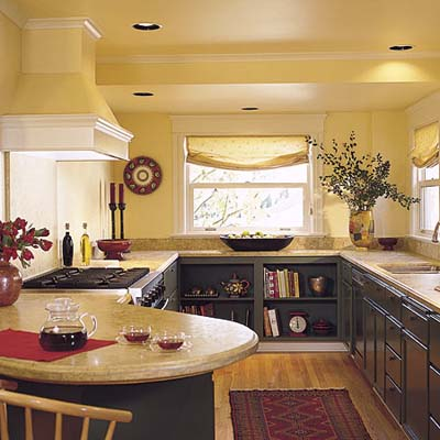 Efficient Galley Kitchens Down the Aisle
