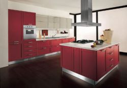 Solid PVC Kitchen Cabinets