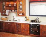Wood Kitchen Storage Cabinet