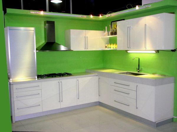 Green Kitchen Furniture