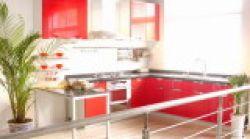 PVC Laminated Kitchen Cabinets