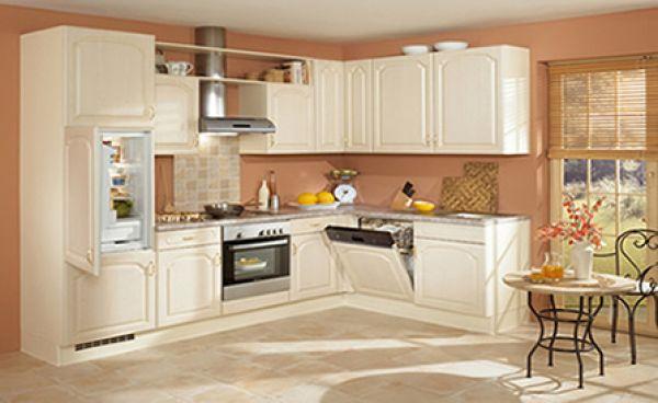 Vanilla Oak Kitchen Cabinet