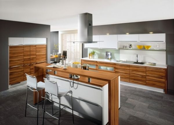 Zebrano kitchen cabinets china zebrano kitchen cabinets for Kitchen ideas zebrano