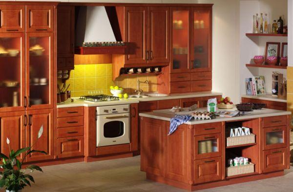 Beech Kitchen Cabinets