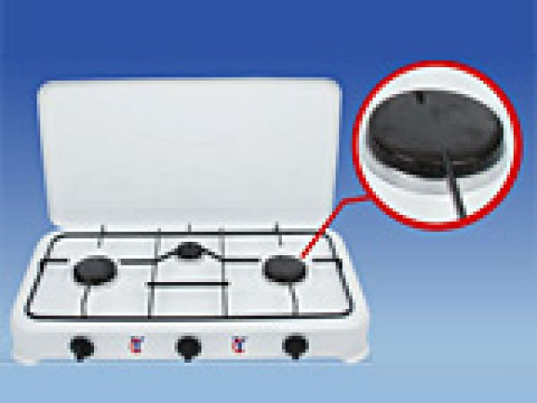 3 Burner Stainless Table Gas Stove
