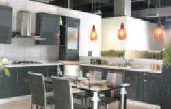 Laquer Coating Kitchen Cabinets