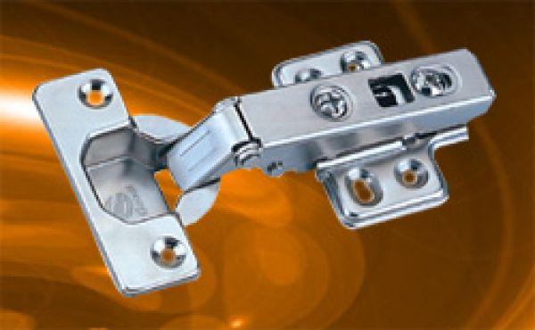 Side-on Hydraulic buffering hinge