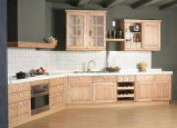 China Wooden Kitchen Cabinet