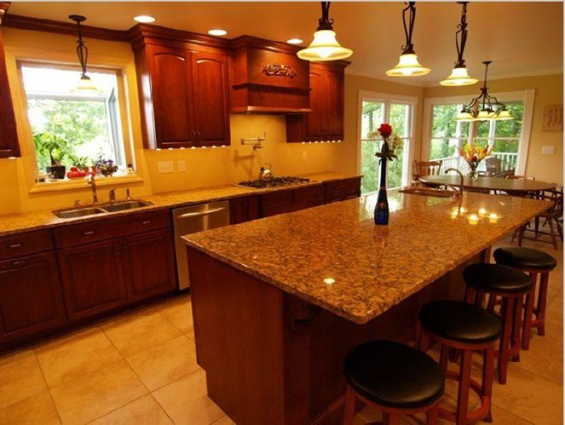American Walnut Kitchen Cabinet