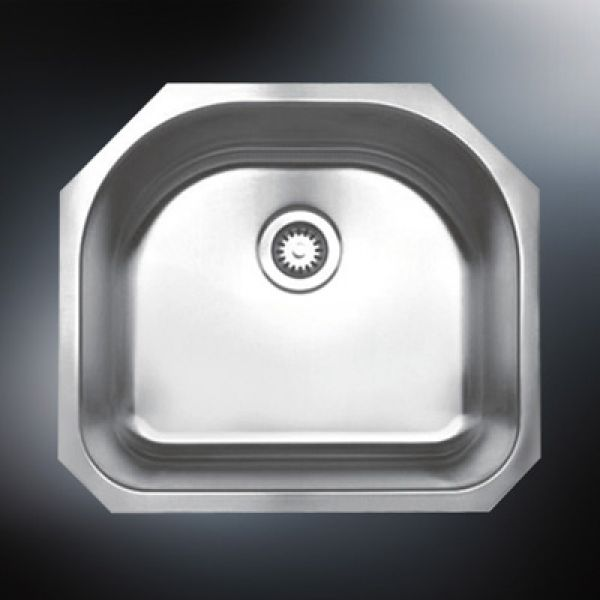 stainless steel single bowl undermount sink