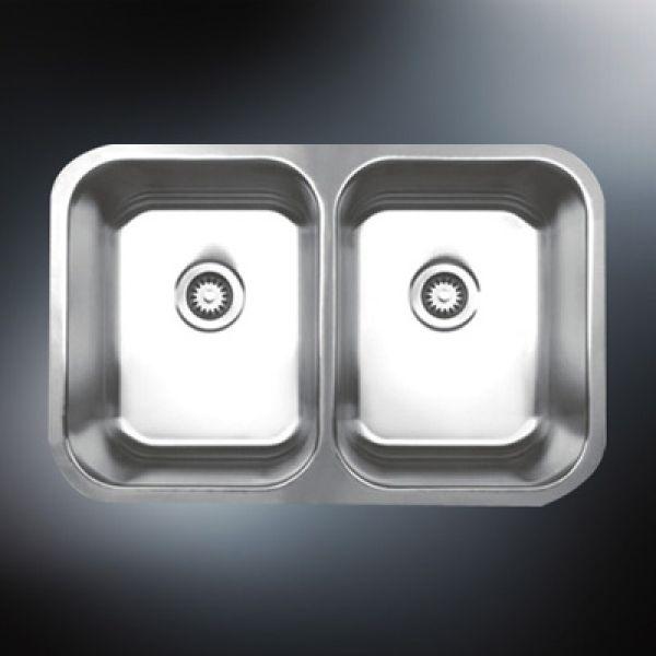 undermount kitchen stainless steel sink