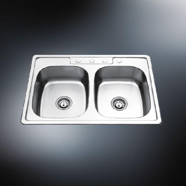 double bowls kitchen sinks