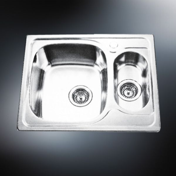 stainless kitchen drop in sink single bowl