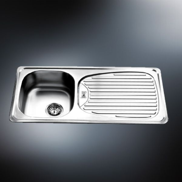 stainless steel bowl insert sink wdrainer