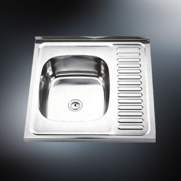 large single bowl kitchen sink