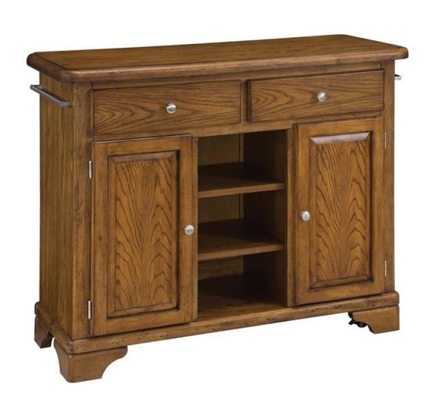 Light Oak Kitchen Island Carts