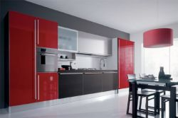 Modern Lacquered Kitchen Cabinet