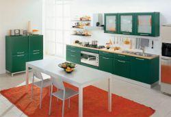 Vivid Kitchen Cabinet