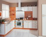 Baking Lacquered Kitchen Cabinets