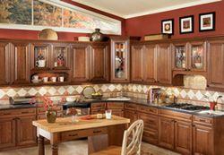 Rich Macchiato Kitchen Cabinets