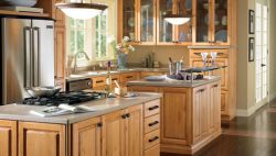 Rustic Thomasville Cabinets KC009 KBC Kitchen Bath