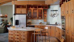 Cherry Light Kitchen Cabinets