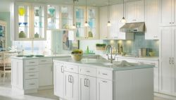 Maple White Paint Kitchen Cabinets