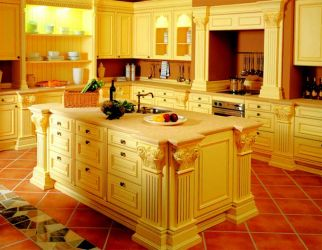 do you use in stock kitchen cabinets at lowes and HD? - SDCIA