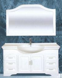 Bathroom Vanity Double Bowl Antique White